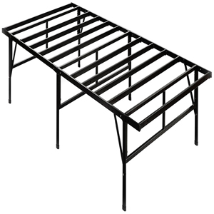 Flex Form Finnish Platform Bed Frame, metal frame, hardwood slats