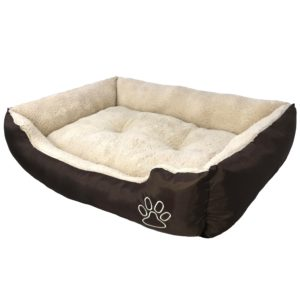 AikoPets Textiles Reversible Rectangle Pet Bed