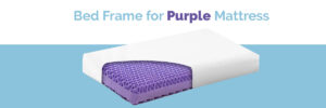 bed bed frame for purple mattress