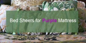 bed sheet for purple mattress