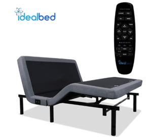 iDealBed 4i Custom Adjustable Bed Base, Wireless, Massage