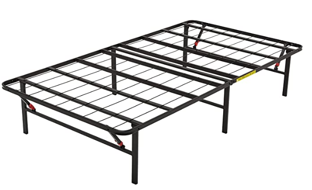 "AmazonBasics Foldable, 14"" Metal Platform Bed Frame"